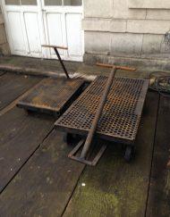 chariots industriel vintage indus