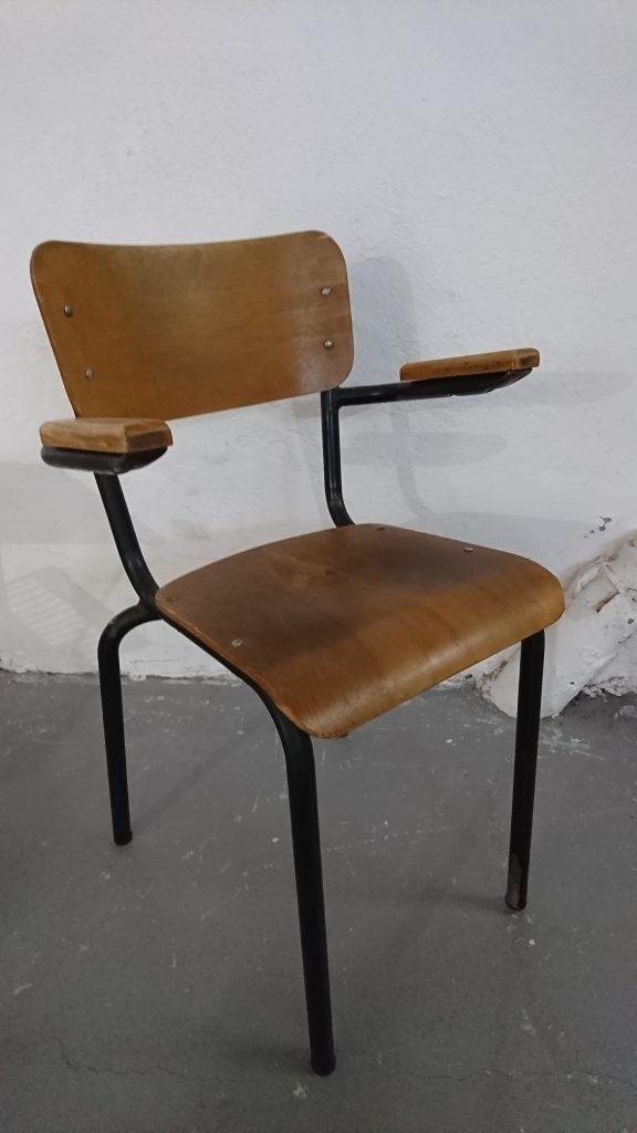 chaise école Matco vintage
