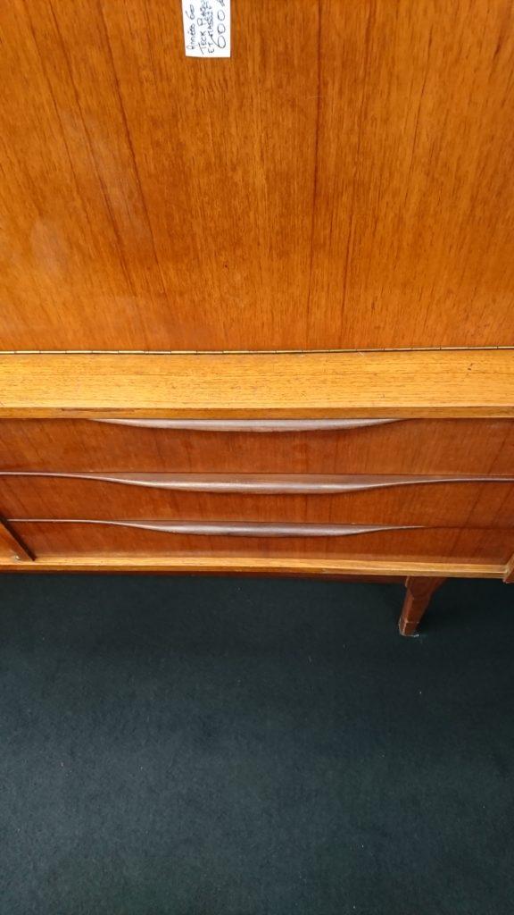 enfilade teck années 60 scandinave tiroirs