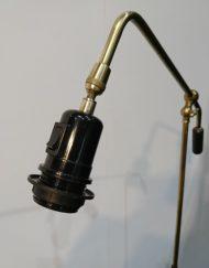 Lampadaire design mathieu mategot noir années 60 mr hattimer brocante vintage Limoges