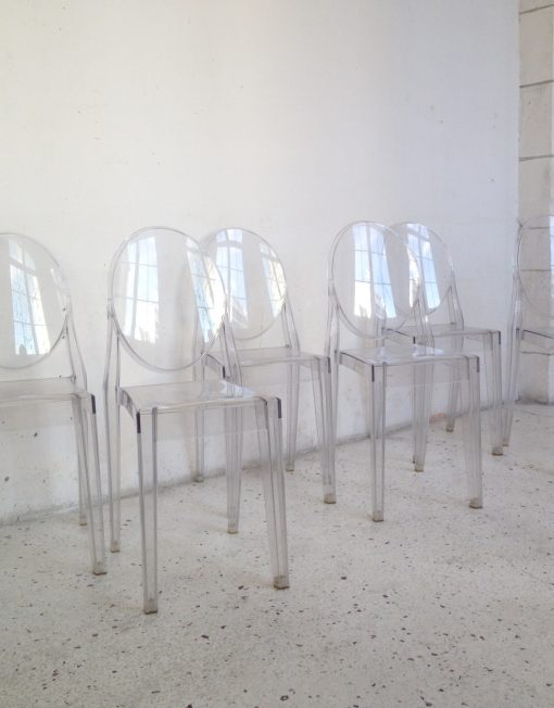 chaises victoria ghost starck