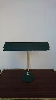 lampe de bureau annees 60 de face