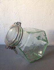 pot a bonbons hermetic en verre