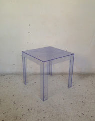 table basse jolly kartell bleue