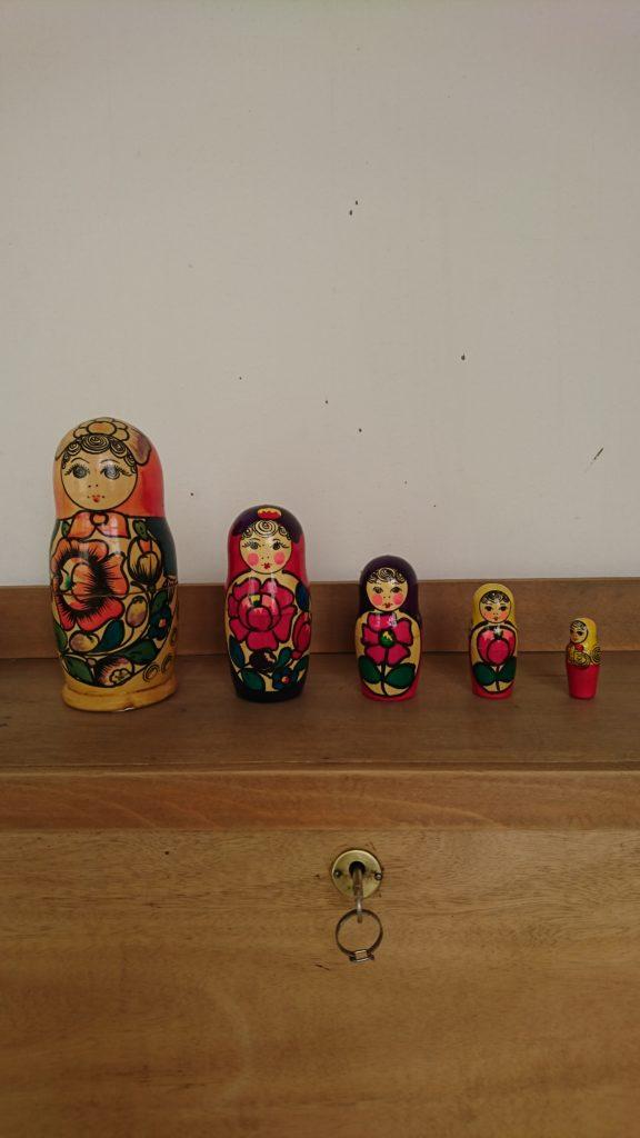 poupees russes vintage deco inspiration