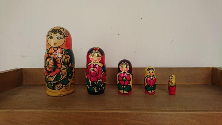 5 poupees russes vintage deco inspiration