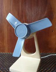 ventilateur Calor beige et bleu mr hattimer brocante vintage limoges