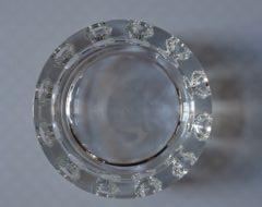 Cendrier vide poche jg durand cristal mr hattimer brocante vintage limoges