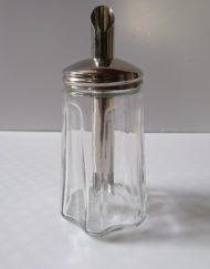 Sucrier STOHA en verre et métal mr hattimer brocante vintage limoges