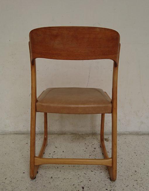 Chaise baumann modèle traineau mr hattimer brocante vintage limoges