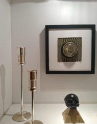 bougeoirs chandelier hoka allemagne métal argenté brocante vintage limoges