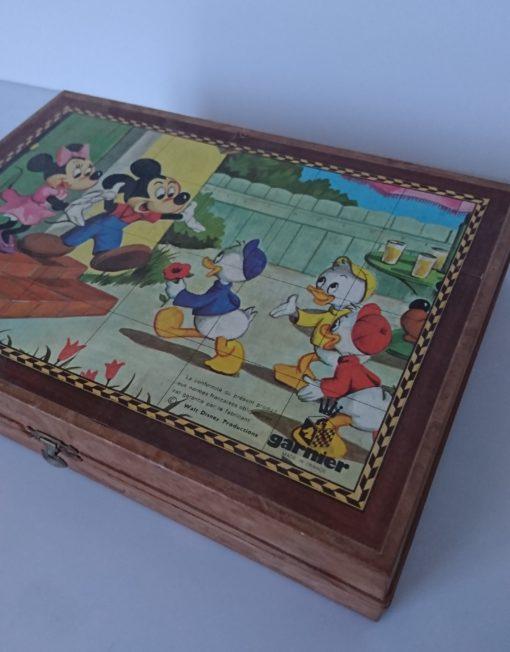 puzzle cube disney mr hatimer brocante vintage limoges