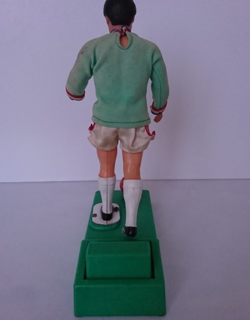 joueur de foot tir au but années 70 mr hattimer brocante vintage limoges