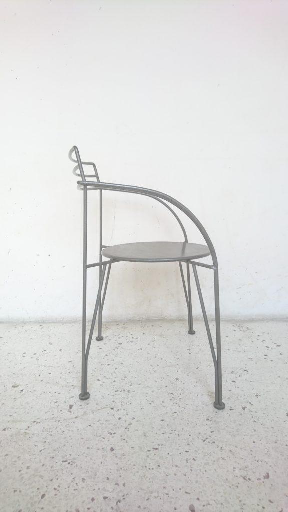fauteuil lune d argent design pascal mourgue fermob mr hattimer brocante vintage