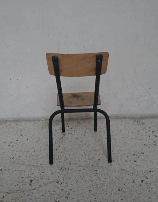 chaise ecole enfant mr hattimer brocante vintage limoges