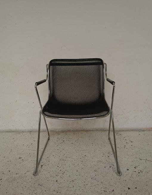 fauteuil penelope design charles pollock mr hattimer brocante vintage limoges