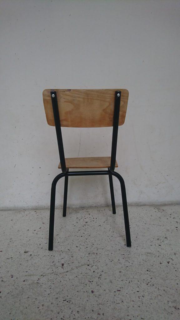 chaise école adulte mr hattimer brocante vintage limoges