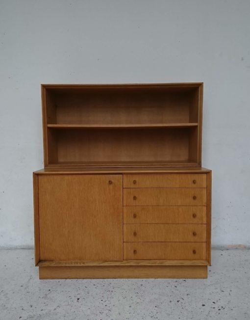 Meuble commode étagères bibliothèque années 60 mr hattimer brocante vintage limoges