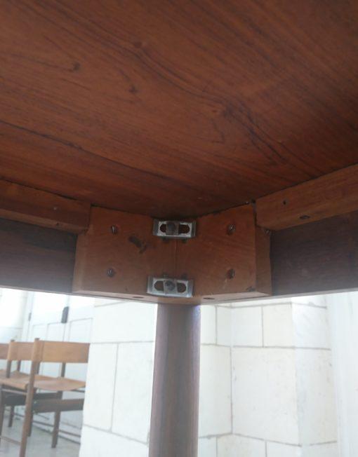 table à dîner design Jorge zalszupin bois de rose années 50 mr hattimer brocante vintage limoges