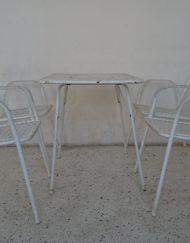 ensemble de jardin emu modèle rio années 70 mr hattimer brocante vintage limoges
