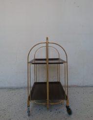 Desserte gerlinor roulante années 70 mr hattimer brocante vintage limoges