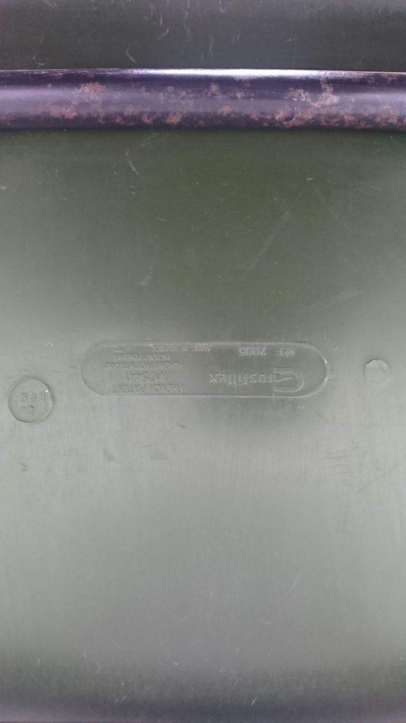 Chaises grofillex vertes coques plastiques mr hattimer brocante vintage Limoges