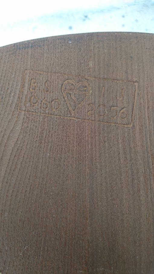 fauteuil chaise windsor ercol bois massif orme design lucian ercolini ercol mr hattimer brocante vintage limoges