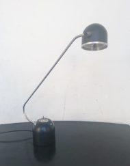 lampe de bureau noire années 60 mr hattimer brocante vintage limoges