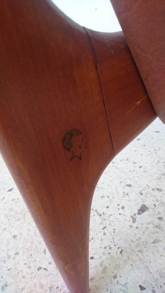 Fauteuil stella années 60 mr hattimer brocante vintage limoges