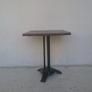 table de bar des années 40 metal pied style art déco mrhattimer brocante vintage Limoges