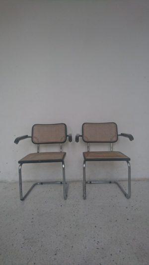 Fauteuil cesca b64 design marcel breuer mr hattimer brocante vintage limoges