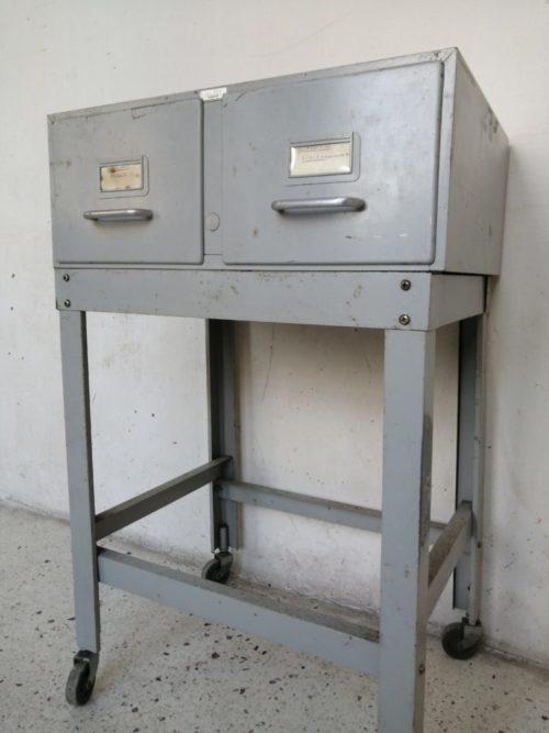 desserte range fiche notaire industriel val-rex mr hattimer brocante vintage limoges