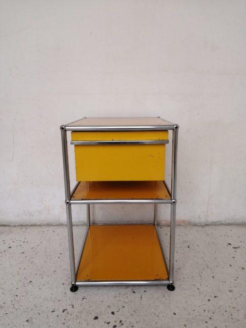 deux meubles chevets usm haller mr hattimer brocante vintage limoges