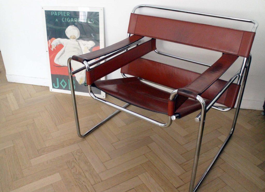 fauteuil-original-wassily-b3-rouge-marcel-Breuer-hattimer-limoges-2020