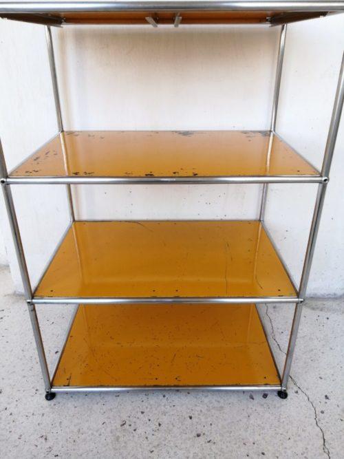 etagere usm haller jaune or mrhattimer brocante vintage limoges