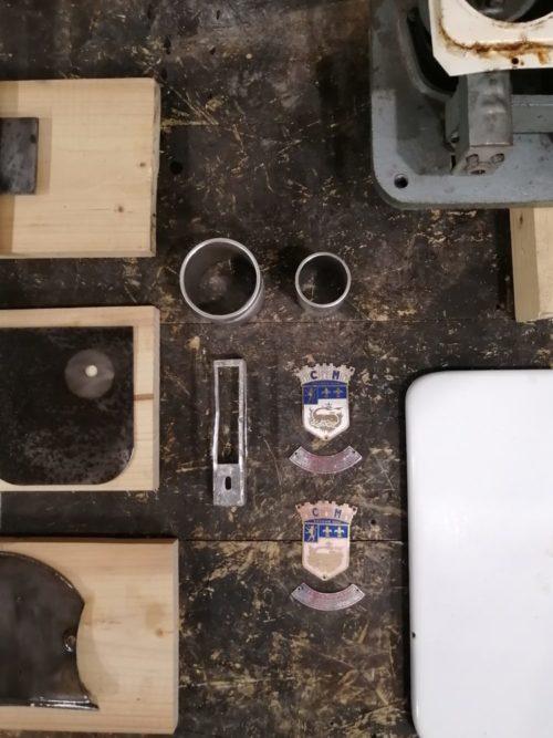 balance de boucher épicerie blanche mr hattimer brocante vintage limoges