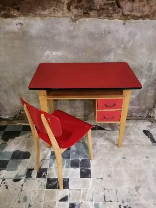 bureau chaise années 60 mr hattimer brocante vintage limoges
