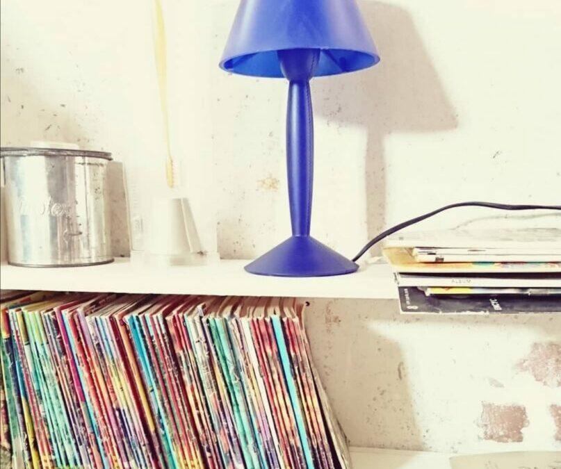 Lampe Flos modèle Miss Sissi Bleu