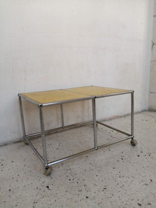 table basse usm haller mr hattimer brocante vintage limoges