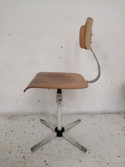 chaise atelier industrielle mr hattimer brocante vintage limoges