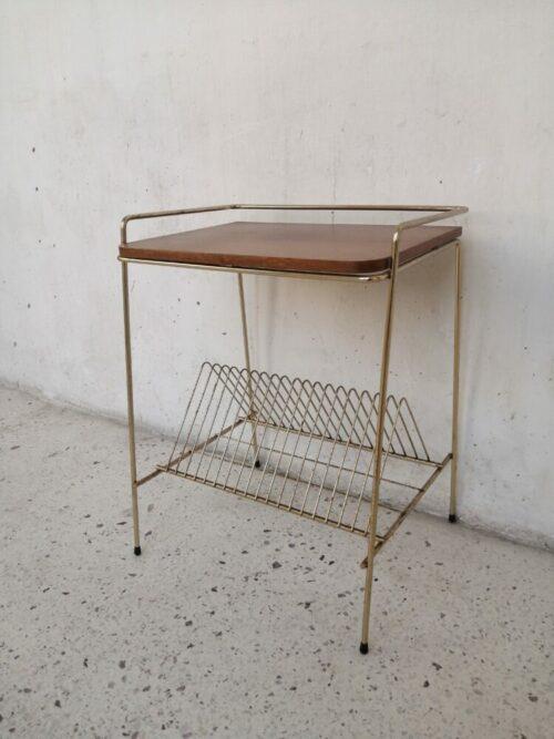 meuble range vinyle années 60 mr hattimer brocante vintage limoges